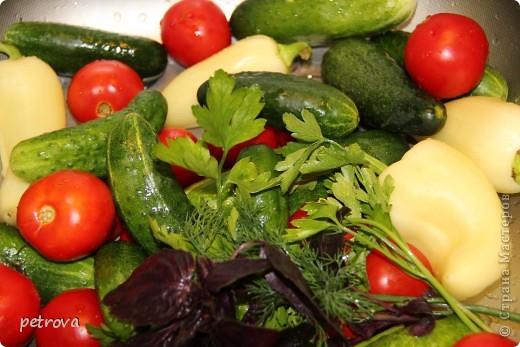 В этот раз я хочу разместить несколько кулинарных рецептов и просто фотографии фруктов-ягод-овощей. Лето, жара... фруктово-овощная благодать! фото 9