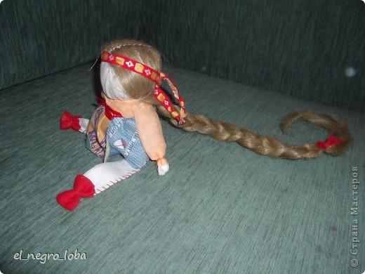 Сегодня я сшила подростковую куклу. Мои дочки тоже шили. Моя - вот такая. А дочки свои у себя наверное вывесят фото 3