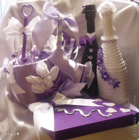 Наша сиреневенькая свадьба))) фото 5