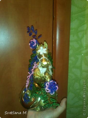 """Доброй ночи всем жителям С.М.!!!Хочу поделиться с Вами своим новым творением!!!Идею подсмотрела у Танюши 88,ее работа меня так вдохновила,что не давала мне покоя 2 недели ,ее работа здесь:http://biser.info/node/206698 Спасибо  Евгению Хонтору и Ольге Широбана за консультацию и подсказки по работе с пластикой и лепке коня,их совместная работа здесь:http://stranamasterov.ru/node/391652!!!Планировала конечно дерево"""" Лошадь"""",но мне кажется,получилась цирковая лошадка!!!Очень трудно мне достался этот конь!!!Но я его слепила!!!Конечно он не идеален,но  все же !!!Такой лепкой занималась впервые,очень трудоемкая это работа!!!Выставляю На Ваш суд,дорогие мастерицы и мастера!!! фото 4"""