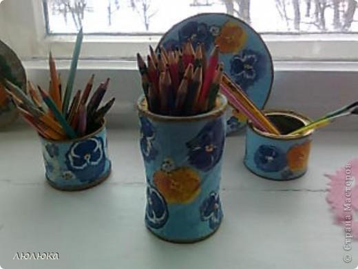 первый набор карандашниц фото 2