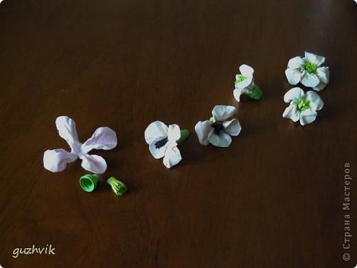Цветочки и мини-МК. Буду рассказывать и показывать как я делала эти цветочки. фото 6