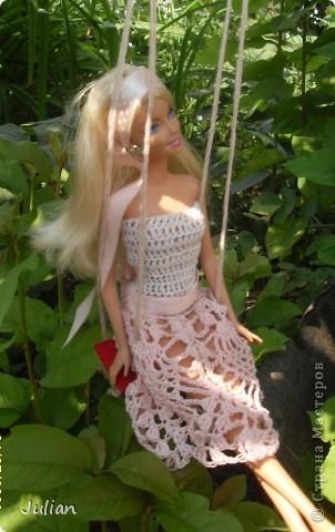 Решила я порадовать своих кукложителей новой одежкой, но не простой а вязаной, вот что из этого вышло... фото 1