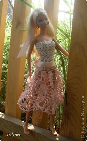 Решила я порадовать своих кукложителей новой одежкой, но не простой а вязаной, вот что из этого вышло... фото 2