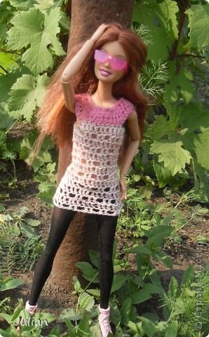 Решила я порадовать своих кукложителей новой одежкой, но не простой а вязаной, вот что из этого вышло... фото 5