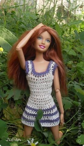Решила я порадовать своих кукложителей новой одежкой, но не простой а вязаной, вот что из этого вышло... фото 8