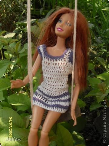 Решила я порадовать своих кукложителей новой одежкой, но не простой а вязаной, вот что из этого вышло... фото 7