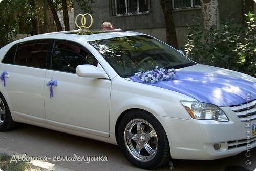 Лавандовая свадьба: украшение на автомобиль + Мастер-класс фото 45
