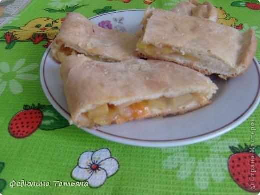 Пирог с яблоками фото 2