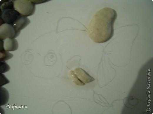 Мастер-класс Поделка изделие День рождения Лепка Рыбки в пруду Гипс Материал природный Тесто соленое фото 9