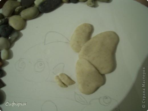 Мастер-класс Поделка изделие День рождения Лепка Рыбки в пруду Гипс Материал природный Тесто соленое фото 10