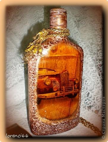 На день Рождение хорошему человеку мой друг заказал сделать подарок, открытку и бутылочку (напитк из Англии) покупал сам. фото 2