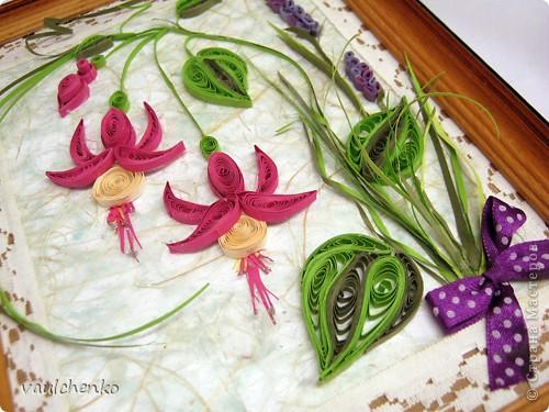 Получился у меня букетик нежных цветов... фото 4