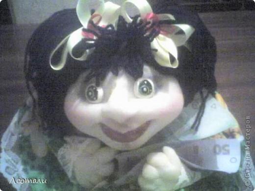 Привет всем кто заглянул. Вот такая счастливая девченка получилась.Вы часто видите когда кто-то счастлив отдавая деньги? Нет? Тогда смотрите! фото 1