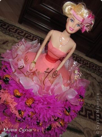 Барби из конфет (Мой 1 опыт в Свит дизайне) фото 2