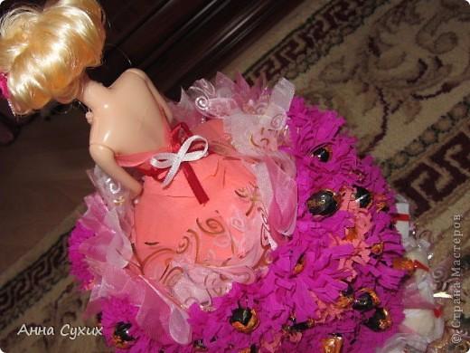 Барби из конфет (Мой 1 опыт в Свит дизайне) фото 3
