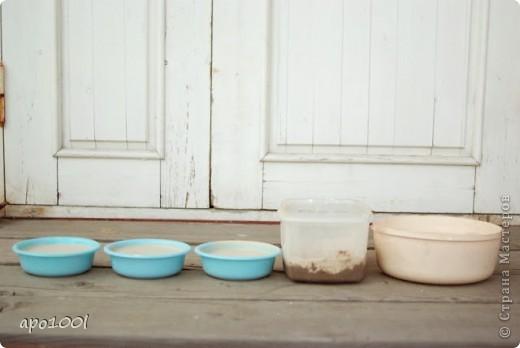 Вам понадобится:      мелкий песок     контейнер     алебастр     различные игрушки , фигурки, камушки, ракушки и т.п.     кисточка  фото 8