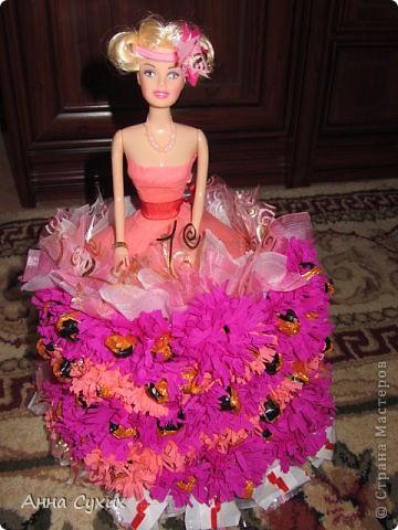 Барби из конфет (Мой 1 опыт в Свит дизайне) фото 1