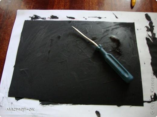 итак, сегодня мы с вами будем делать гравюру. фото 7
