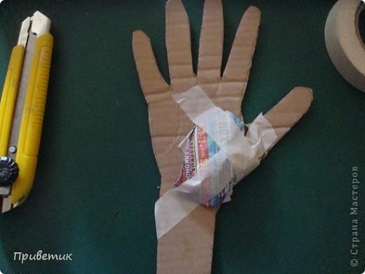 Вот сделала еще одну руку! фото 6