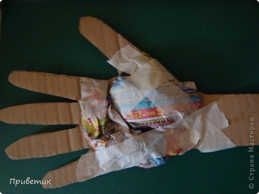 Вот сделала еще одну руку! фото 7