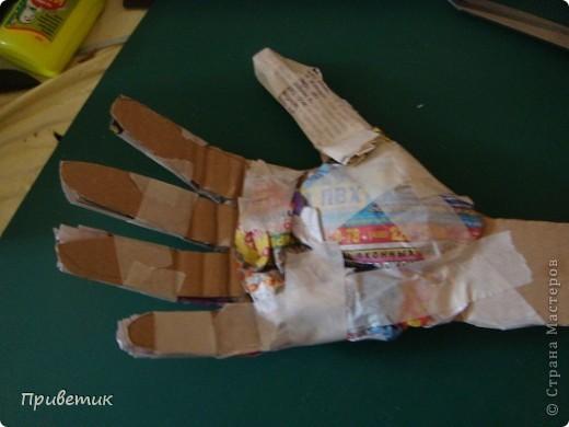 Вот сделала еще одну руку! фото 9