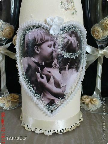 Моя вторая работа. Была сделана на свадьбу  брата. фото 2