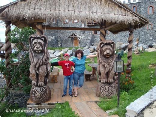 """Итак продолжу рассказ о поездке 2011 года. После Зюраткуля мы направились в город Сатку, чтобы посмотреть """"Сонькину Лагуну"""". Об этом парке, признаюсь, мы не знали вовсе-хотя живем не так далеко. Не знали о нем и родственники в Магнитогорске. фото 14"""