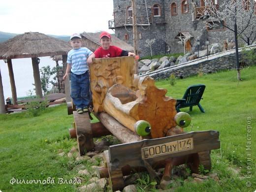 """Итак продолжу рассказ о поездке 2011 года. После Зюраткуля мы направились в город Сатку, чтобы посмотреть """"Сонькину Лагуну"""". Об этом парке, признаюсь, мы не знали вовсе-хотя живем не так далеко. Не знали о нем и родственники в Магнитогорске. фото 15"""