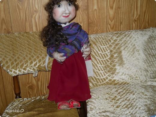 кукла,рост60см,на каркасе фото 1