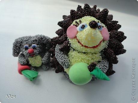 Ежиха Марта и заяц Хвостик. фото 1