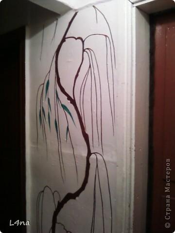 Представляю вам очередные мои художества на стенах фото 4