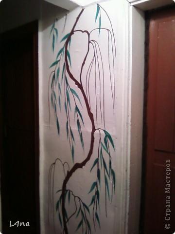 Представляю вам очередные мои художества на стенах фото 5