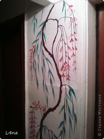 Представляю вам очередные мои художества на стенах фото 6
