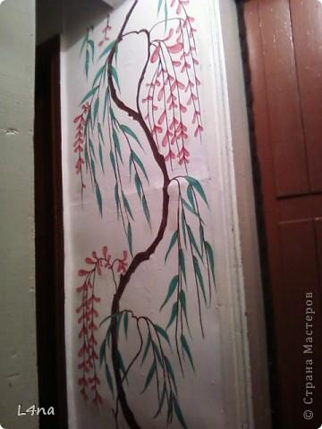 Представляю вам очередные мои художества на стенах фото 7