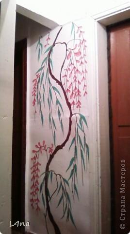 Представляю вам очередные мои художества на стенах фото 1