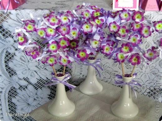 Сердечки - декор свадебного стола