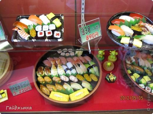 Разгребая фотки наткнулась на фото, сделанные еще в мае. Это мы заезжали покушать суши. На этой фотографии макеты! Про макеты подробнее тут: http://stranamasterov.ru/node/87699 фото 1