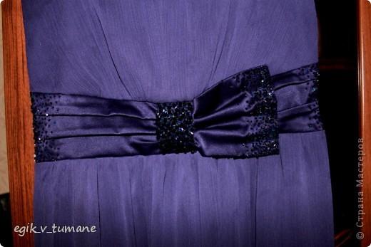 Было у меня вот такое платье, наметилась свадьба друзей, и я его решила приукрасить бисером... фото 3
