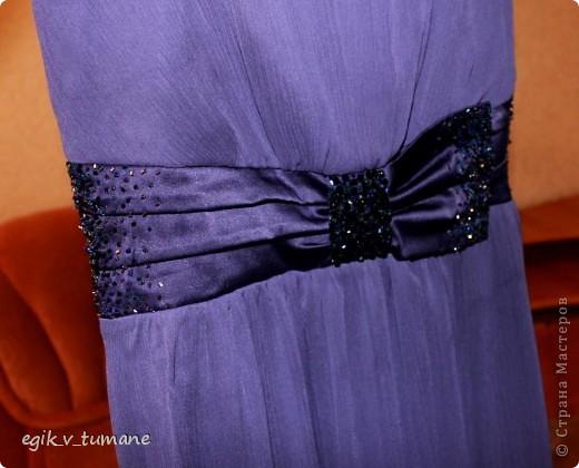 Было у меня вот такое платье, наметилась свадьба друзей, и я его решила приукрасить бисером... фото 2