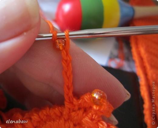 Очень многих интересует как вяжутся цветы крючком. Предлагаю сегодня связать один из моих самых любимых вариантов! фото 8