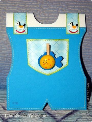 Коляска + открытка для новорожденного малыша...... фото 8