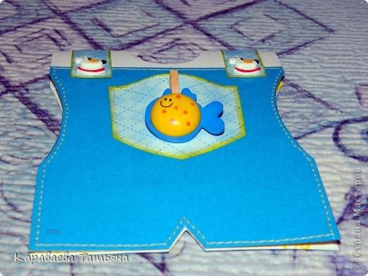 Коляска + открытка для новорожденного малыша...... фото 14