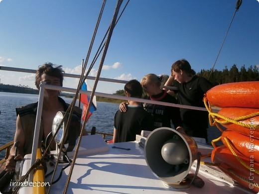 на выходных плавали на яхте(вот так она выглядит) фото 2