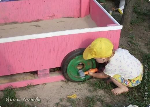 Камаз-песочница фото 4