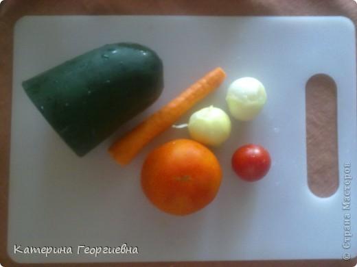 Вот такой омлет с овощами получился у меня.Просто,быстро,а главное вкусно.А сейчас я расскажу и покажу как это было) фото 3
