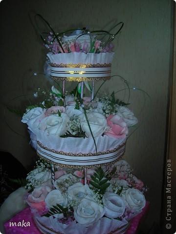 Букеты конфетные свадебные и не только. фото 2
