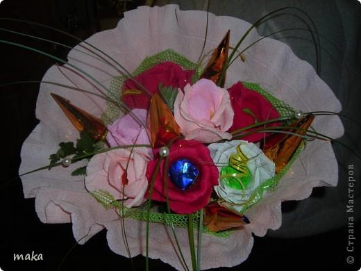 Букеты конфетные свадебные и не только. фото 7