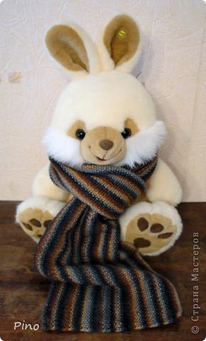 Еще в конце зимы связала этот шарфик, но сфотографировать руки дошли только сейчас.  фото 2