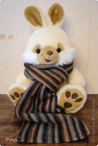Еще в конце зимы связала этот шарфик, но сфотографировать руки дошли только сейчас.  фото 1